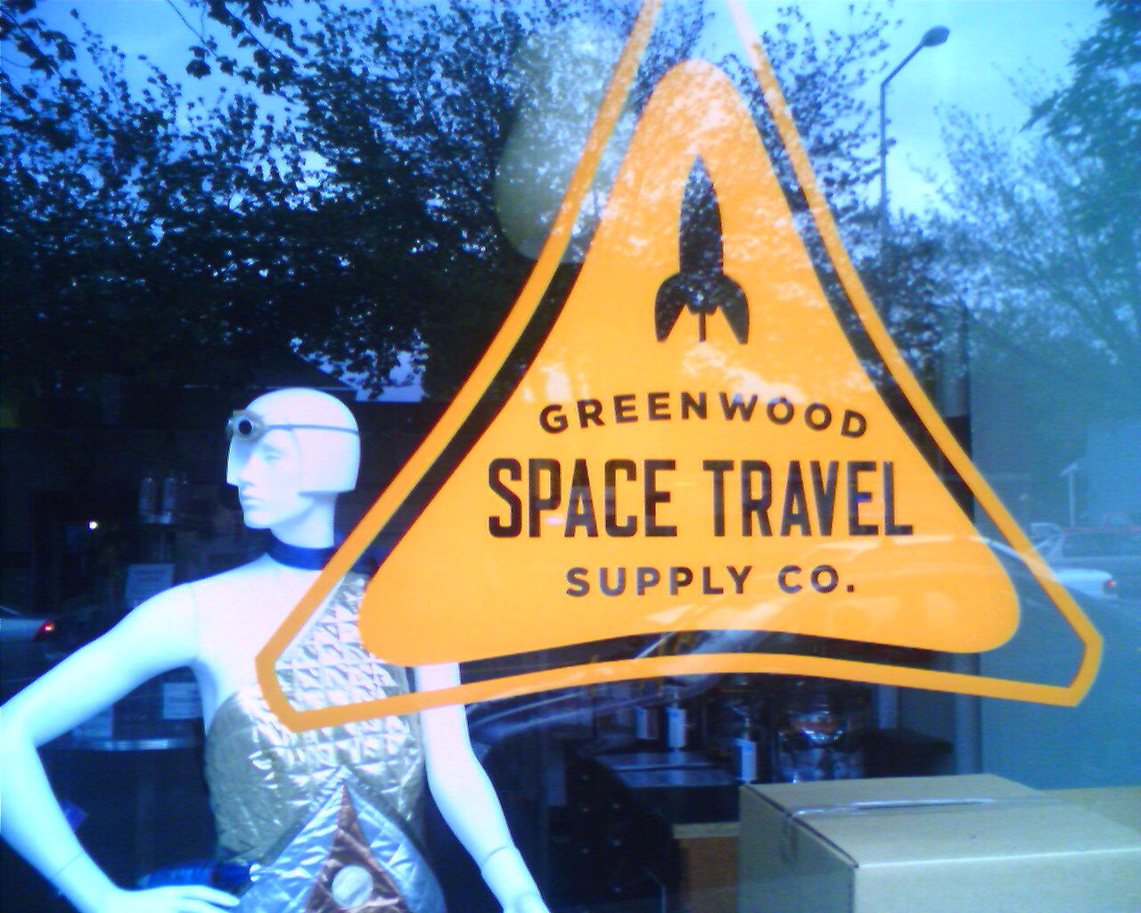 Greenwood Space Travel Supply Company.