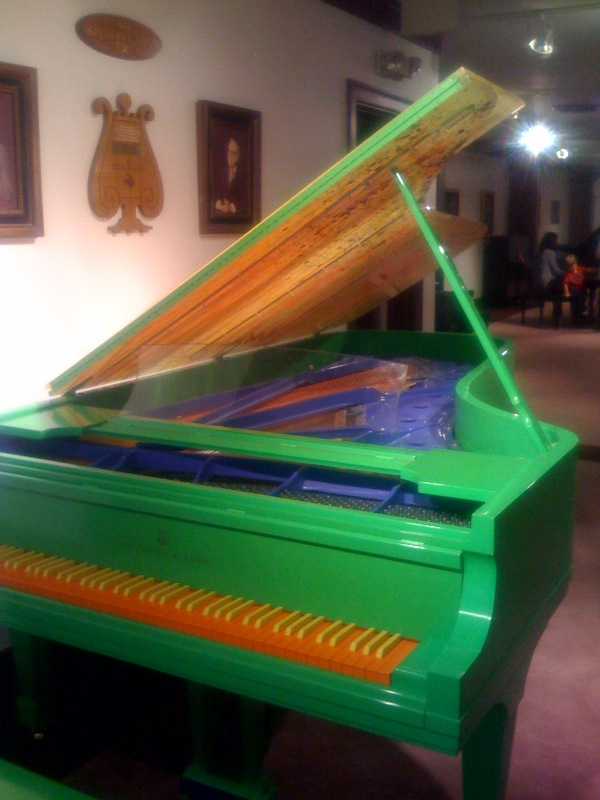 Chihuly Glass Piano
