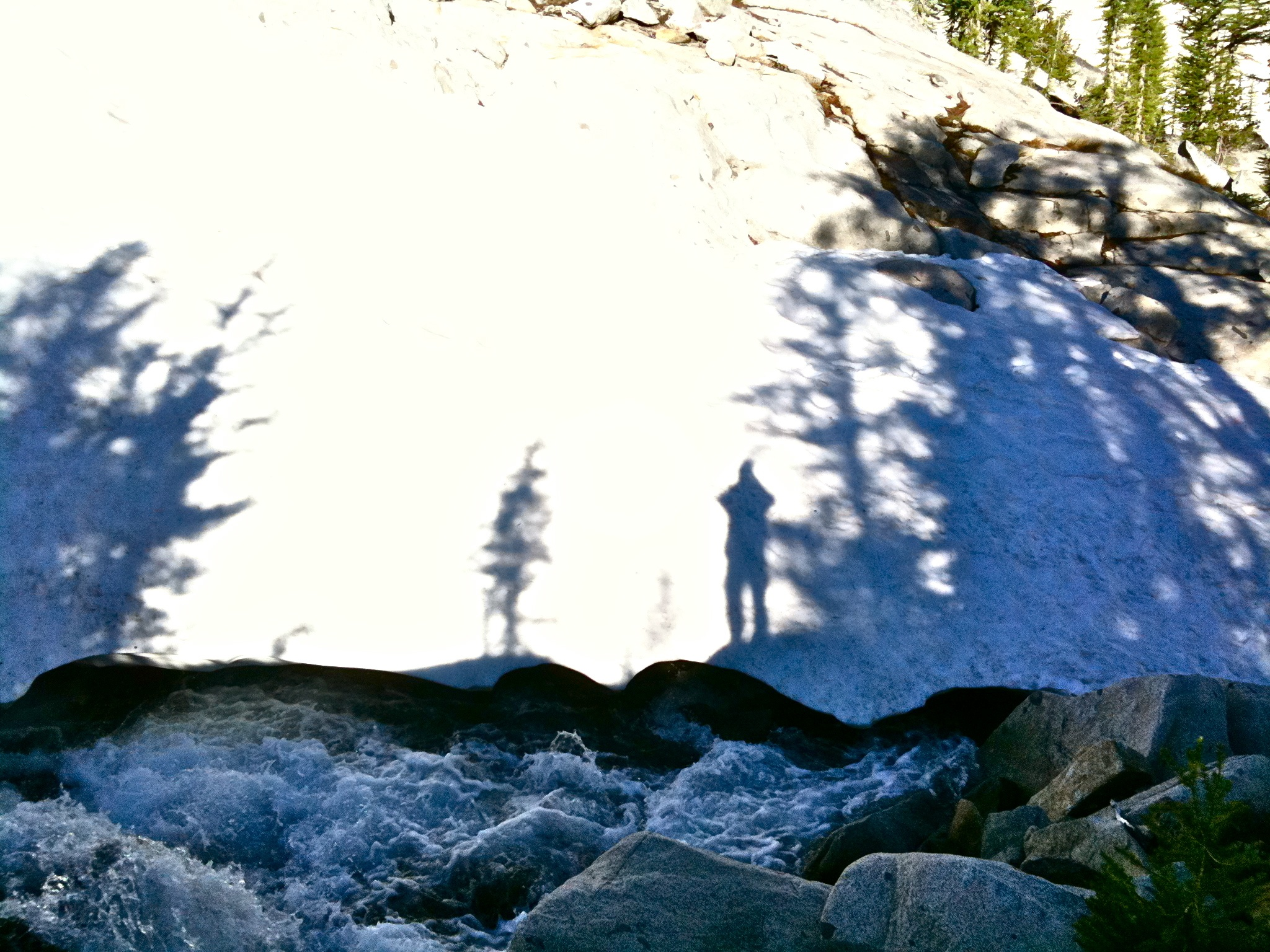 Snow, Shadow, Water, Light.